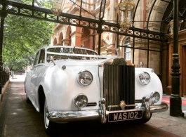 Rolls Royce Silver Cloud for weddings in London